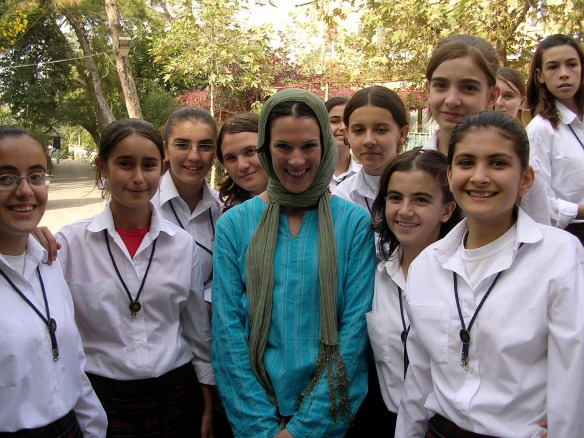 The girls of Karacbey dressed me in a Hijab