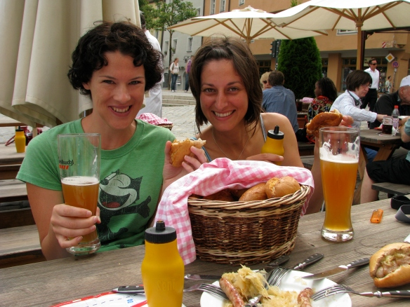 Enjoying life to the max with Paloma in Regensberg