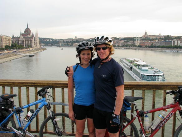We made it to Budapest having enjoyed an amazing ride
