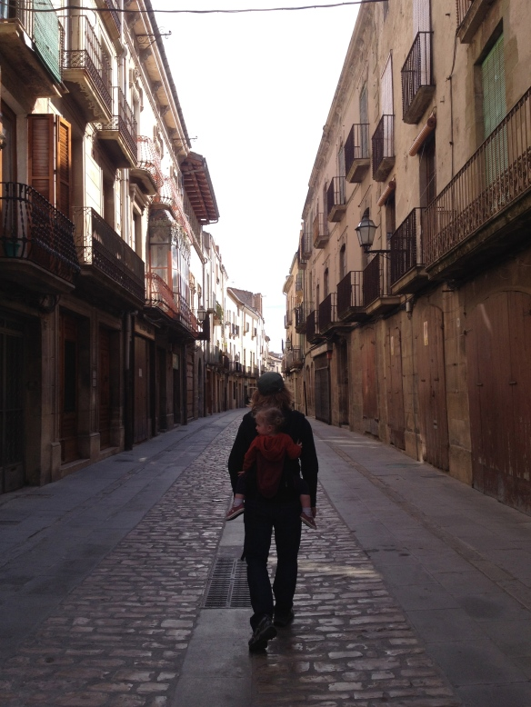Cool street in Cervera.