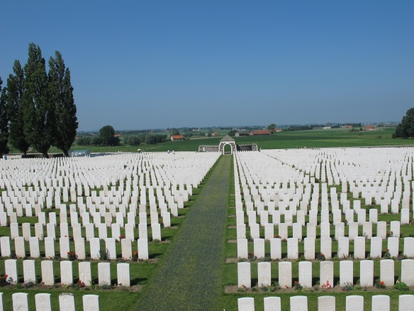 Rows of Graves