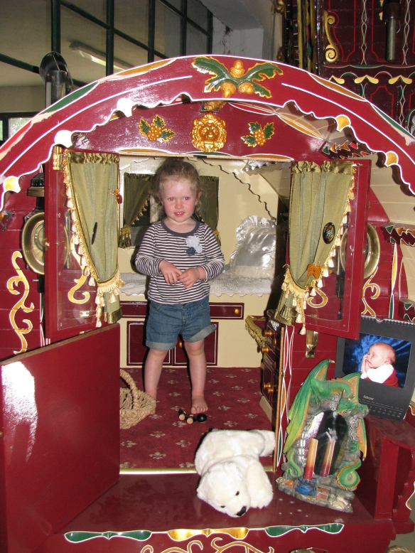 A child size gypsy caravan!