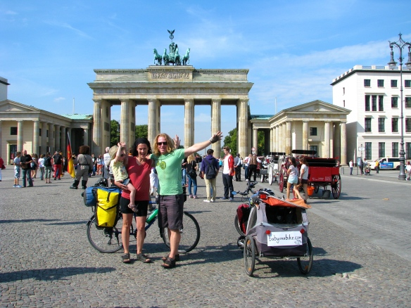 After more than 5 months  and 4000km of cycling we finally made it to Berlin!